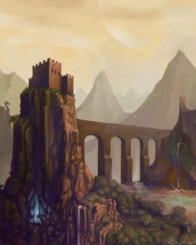 The Fortress of the Source by taerin