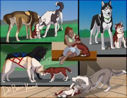 A week in the kennel 2 by Sharaiza