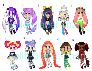 { mixed batch } {closed} by hello-planet-chan