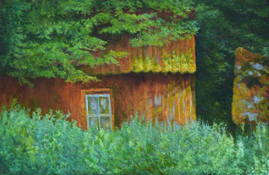 Little House In A Thicket by CalciteMink1610