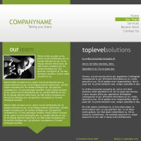 Green Business Template by Gtkmasters
