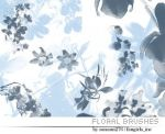 Floral brushes by Sanami276