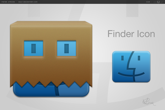 Finder Icon by eggy