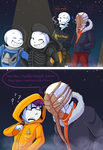 Undertale :: Underswap :: SwapFell:: Halloween by SpaceJacket