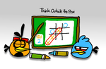 Think Outside the Box by AngryBirdsStuff