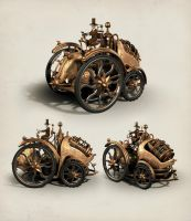Vehicle concept from 'Inventium' by ZephyrChef