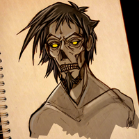 Zombie sketch by Dimenran