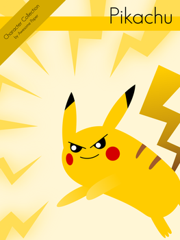 Character Collection #42 - Pikachu by AwesomePaper