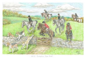 2015 Derbyshire Open Formal Hunt by MistyofSunrise