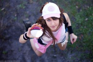 Touko-Pokemon Black and White by leppa-berry