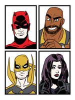 TSHIRT - Defenders preview by theEyZmaster