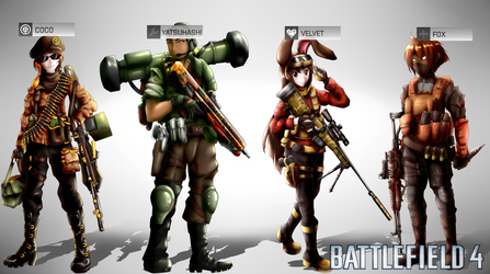 Battlefield 4: Team CFVY by SSgt-LuLZ