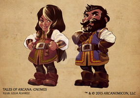 Tales of Arcana 1st Set - Gnomes by TalesofArcanaRPG