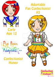 C.C. Adoptable Revealed: Confectionist Honey by Magical-Mama