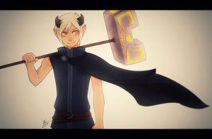 Dofus - Kylian the Osamodas by Enoris