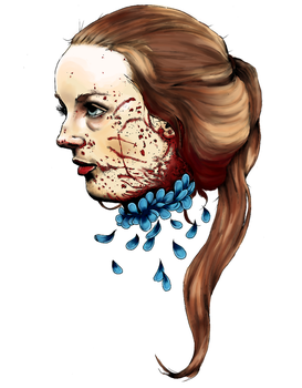 Abigail Hobbs. (Coloured) by kyuubi-overrated