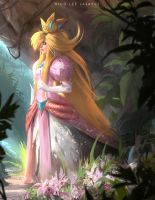 Princess Peach by orochi-spawn