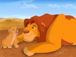 A fathers love by Takadk