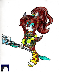 Astrid Even The Wolf-Husky - Traditional by DL-95