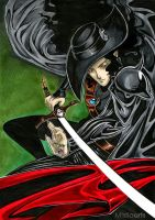 Vampire Hunter D by Mistiqarts