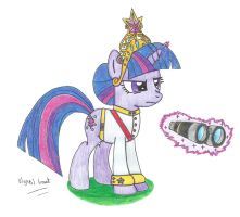 Field Marshal Sparkle, the Element of Magic Mk2 by UlyssesGrant