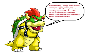 King Bowser the strategist by SuperKoopaTroopa