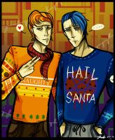 Ugly sweater party by KorpseBride