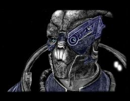 Mass Effect : Garrus Vakarian by ToniMariaAli