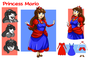 Princess Mario by FieryJinx