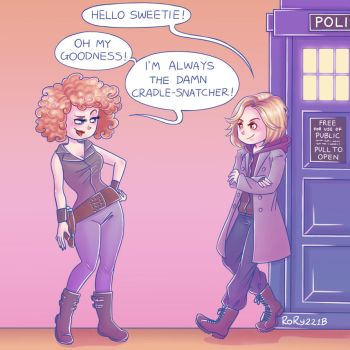 Doctor Who - Space Wives by Rory221B