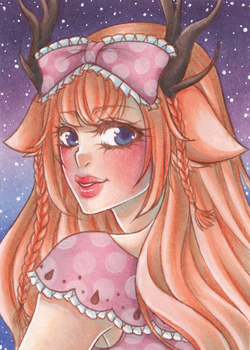 ACEO Comission by PrincessFealin