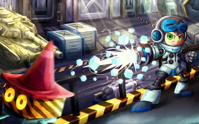 Mighty No. 9 - Beck by Mig515