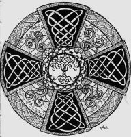 Celtic Mandala by Nathair23