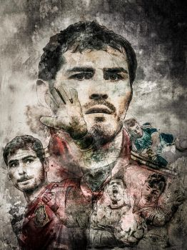 Iker Casillas by zepaulo