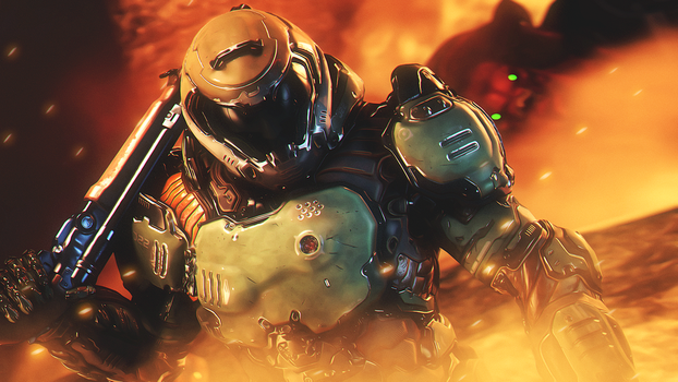 Doom Slayer by AngryRabbitGmoD