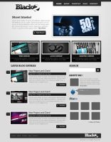 Black2 Wordpress theme by ehlikeyif