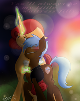 AnYKey: My Lil' Filly by CosmicChrissy