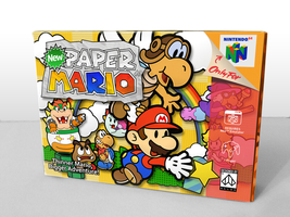 New Paper Mario Box by Nelde