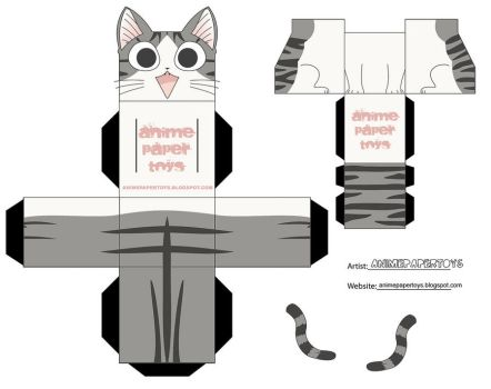 chi - chis sweet home cubee by animepapertoys