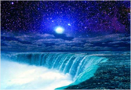 Waterfall Nightvision by MindStep