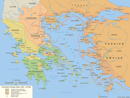 The Greco-Persian Wars, 499 - 479 BC by Undevicesimus