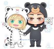 Otayuri: Winter Olympic 2018 by Iksia