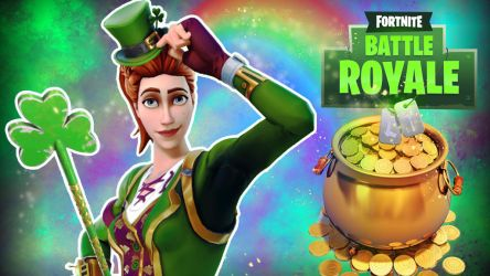 Fortnite BR Saint Patrick's Day by LordMaru4U