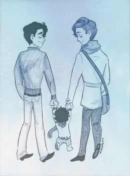 Klaine: Stroll in the Park by Muchacha10