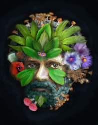 Terence McKenna by 31337ist