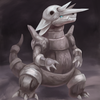 Aggron by R8A-creations