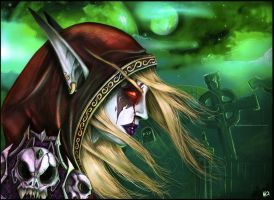 SYLVANAS Painful Memories by STACH2606