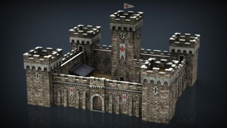 Medieval Fortress  by sanchiesp