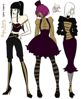 Project Runway Challenge 13 - Semi Finale by Miss-Bow