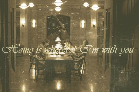 Home is Wherever I'm With You by marie-nelson1994